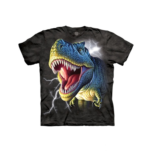 YOUTH SHORT SLEEVE T-REX LIGHTNING