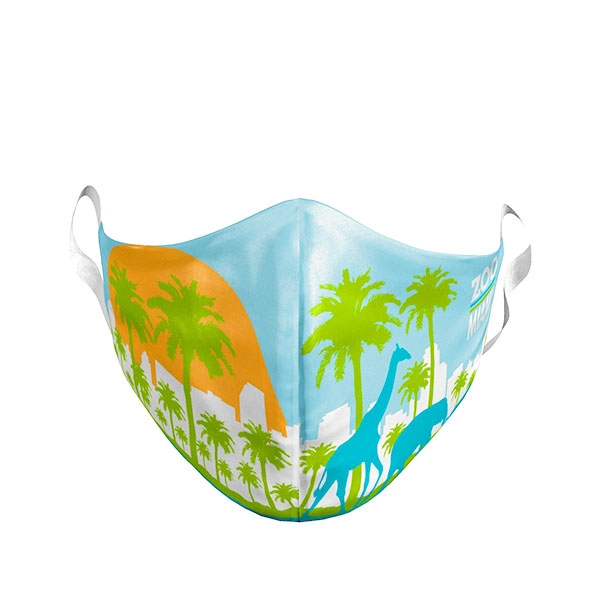 TODDLER MIAMI SKYLINE MASK