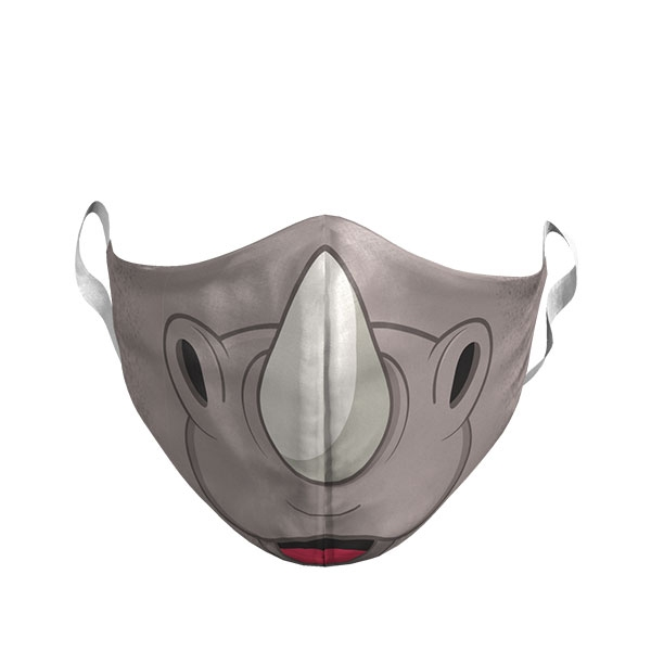 ADULT RHINO FACE MASK