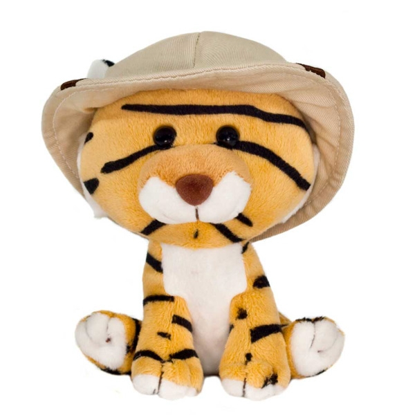 SAFARI FRIENDS PLUSH TIGER