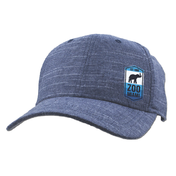 ADULT BASEBALL HAT-ELEPHANT STRIPES