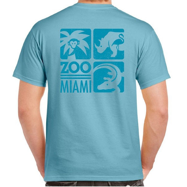 ADULT SHORT SLEEVE TONAL ZOO MIAMI TEE