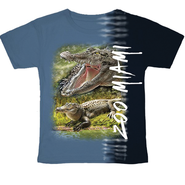 YOUTH ALLIGATOR TEAROUT TEE