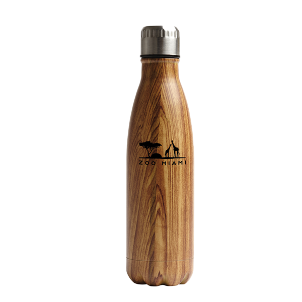 BOTTLE WOOD GRAIN SAVANAH LOGO