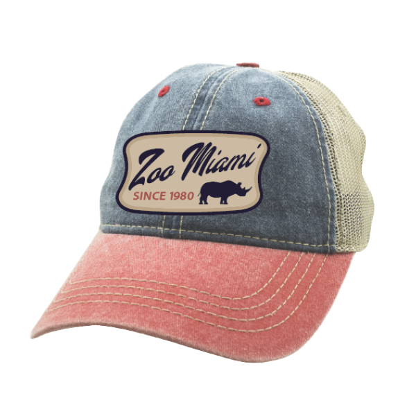 ADULT BASEBALL HAT-VINTAGE RHINO