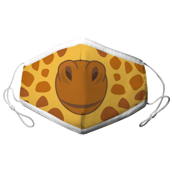 ADULT ADJUSTABLE CARTOON GIRAFFE MASK