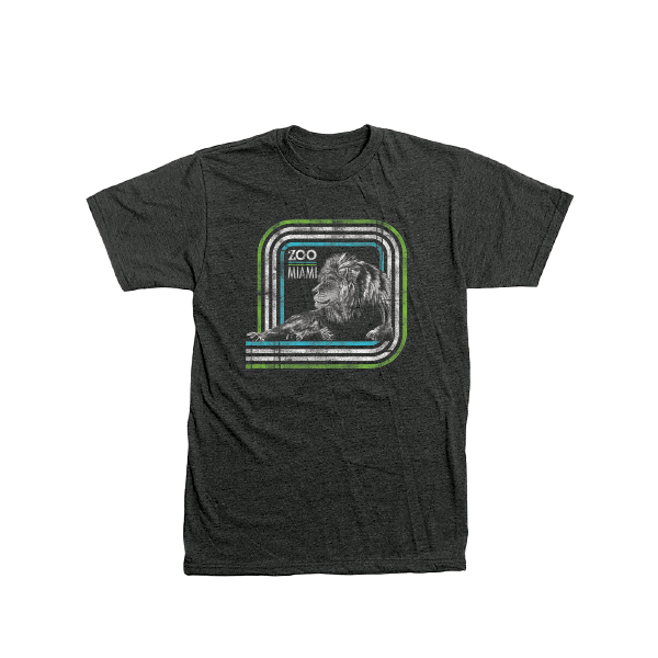 ADULT LION SQUARED TEE