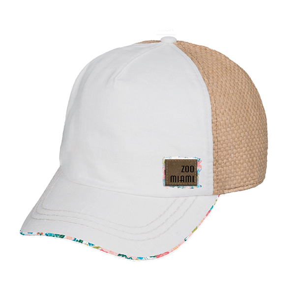 LADIES BOTANICAL TIGER BASEBALL HAT