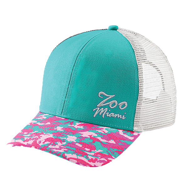 LADIES ANIMAL COLLAGE BASEBALL HAT