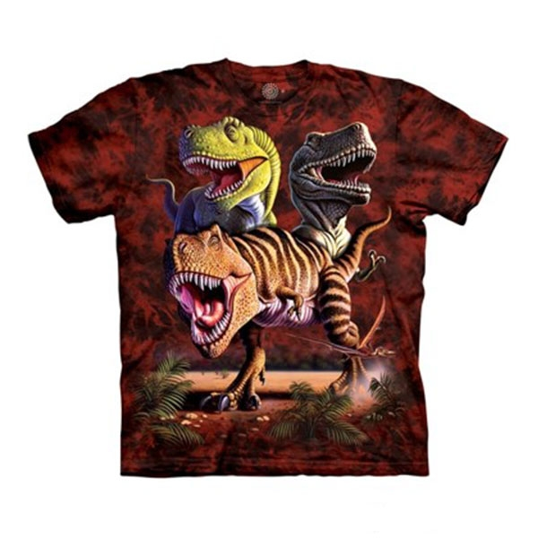 ADULT SHORT SLEEVE TEE T-REX COLLAGE
