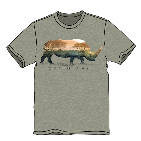 ADULT RHINO OPEN FIELD SHORT SLEEVE TEE