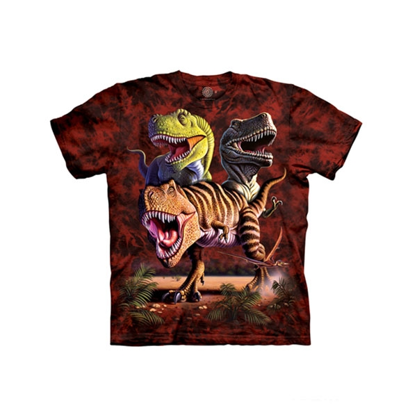 YOUTH SHORT SLEEVE T-REX COLLAGE